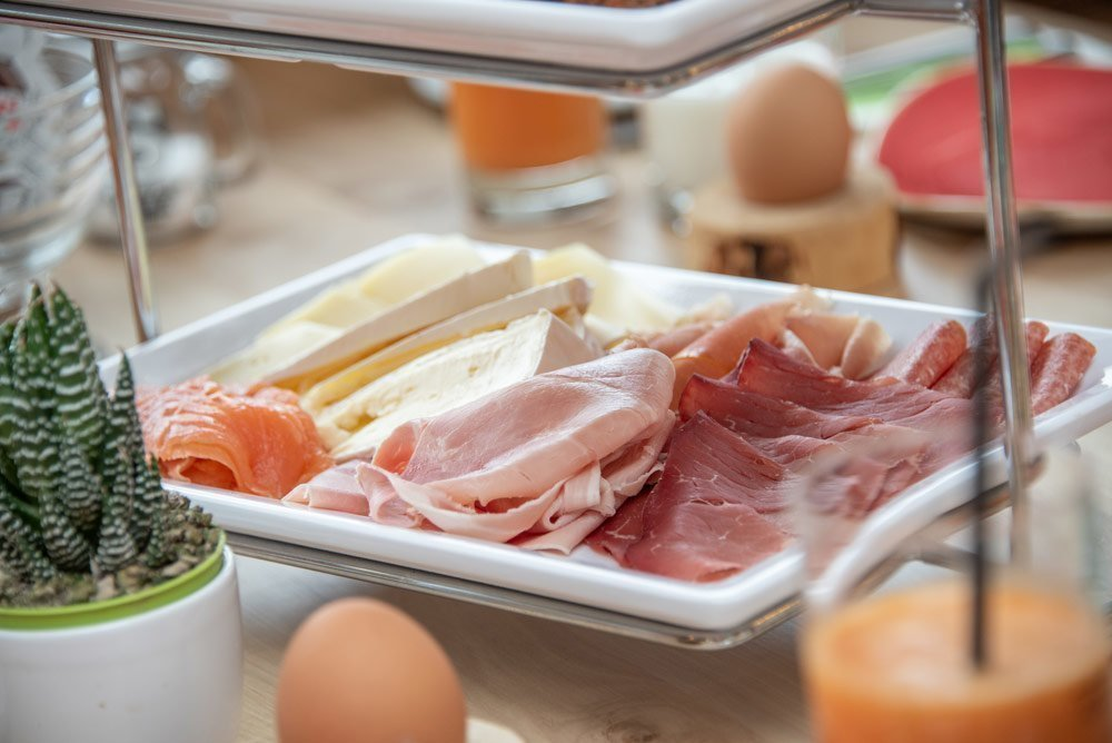 All you can eat-colazione a buffet con prelibatezze altoatesine