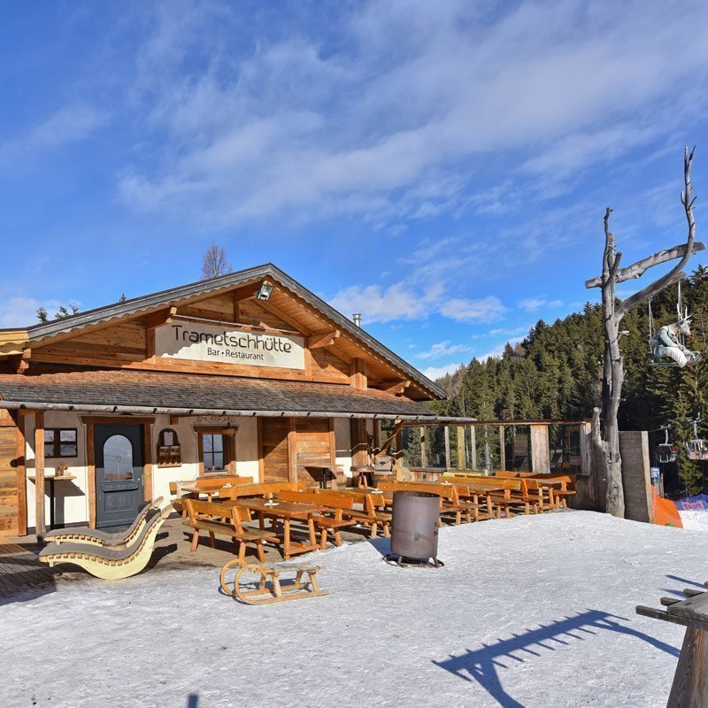 Your ski chalet in South Tyrol directly along the Trametsch run
